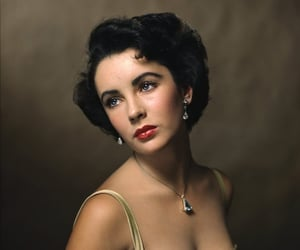 1950s, actress, and Elizabeth Taylor image