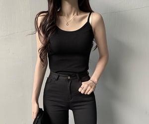 asian fashion, minimalist, and moda image
