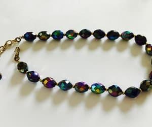 aurora borealis, choker, and necklace image