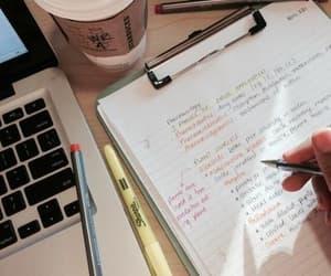 study, studing, and tumbler image