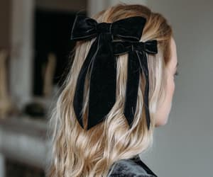 bow, fashion, and hair image