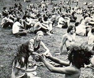 woodstock, 1969, and vintage image