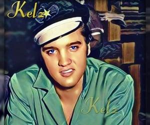 Elvis Presley, digitalart, and elvis image