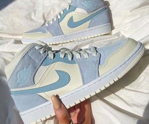 air jordan, fashion, and blue image