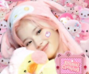 hello kitty, messy, and plushies image