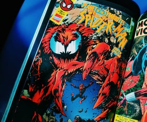 carnage, comic, and Marvel image