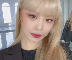asian, blonde, and korea image