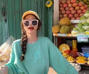 girl, polarr, and lightroom image