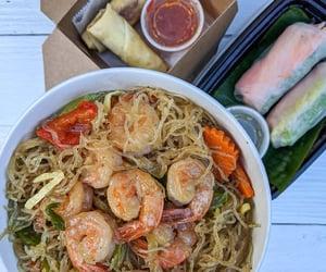 food, nourriture, and seafood image
