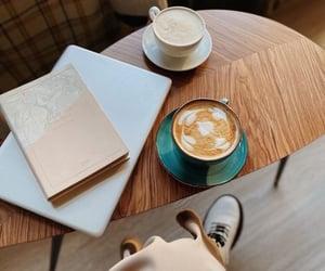 cafe, tea, and coffee image