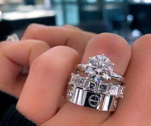 diamond, jewelry, and ring image