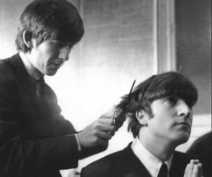 george harrison, john lennon, and the beatles image