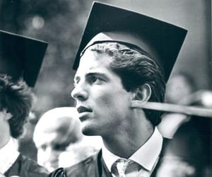kennedy, graduating, and 80s image