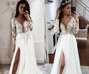 wedding dresses, bridal gowns, and boho wedding dresses image