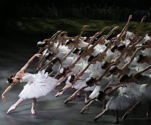 ballerinas, on stage, and performance image