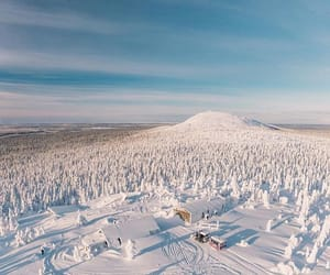 finland, view, and winter image