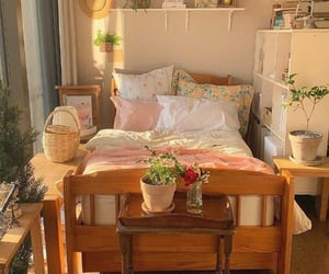 bedroom and cottagecore image