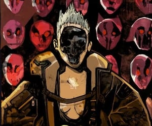 faceless, mask, and cyberpunk image