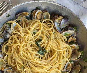 food, mediterranean, and mussels image