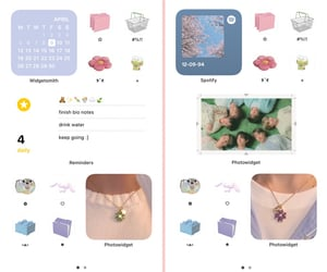 pastel, bts, and ios 14 image