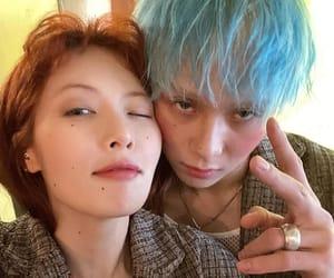 dawn, hyuna, and kim hyojong image