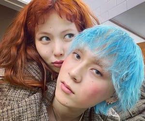 dawn, kim hyuna, and kim hyojong image