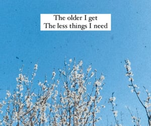 quote, older, and life image