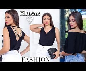 blouse, de, and moda image