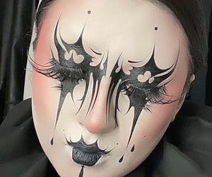 alternative, art, and eyeliner image