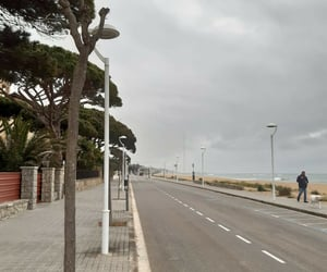 Barcelona, peaceful, and road image