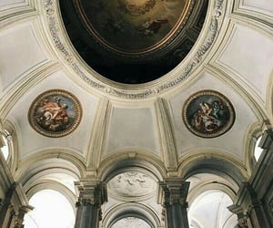art, ceiling, and church image