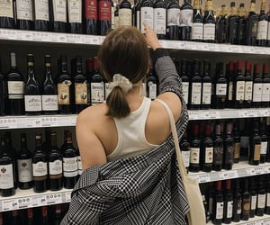 aesthetic, clothes, and wine image