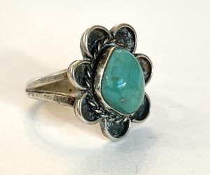 etsy, turquoise ring, and jewelry gift image