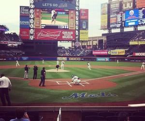 baseball, close, and mets image