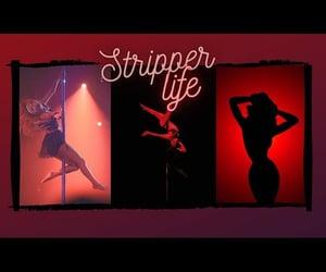 money, stripper, and tiktok image