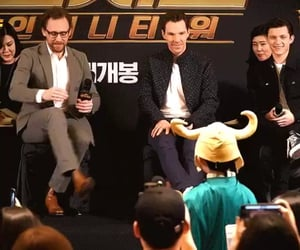 lovely, benedict cumberbatch, and tom holland image