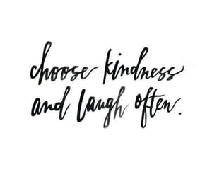 happiness, kindness, and quote image