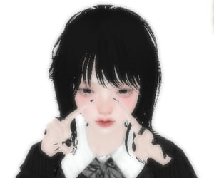 3d, avatar, and imvu girl image