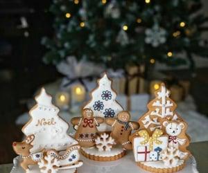 christmas cookies, christmas, and new year image