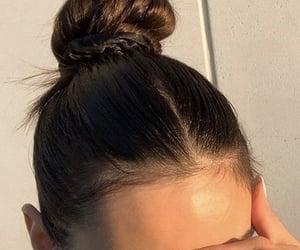 bun, hair, and inspiration image