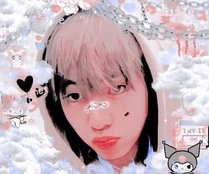 kpop, soft, and taehyung image
