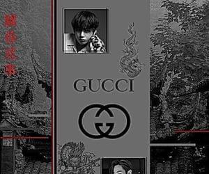 dark, edit, and taehyung theme image