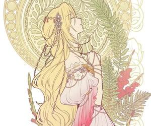 aesthetic, who made me a princess, and anime girl image