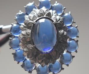 etsy, blue cabochon, and something blue image