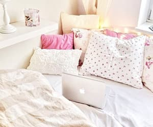 bedroom decor, cushions, and home decorations image
