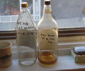 bottle, indie, and grunge image