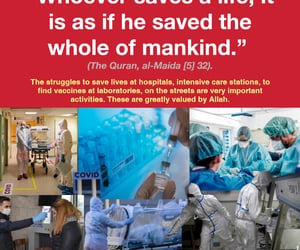 islam, save a life, and covid-19 image