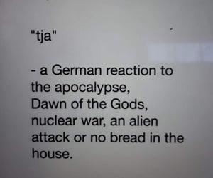 reaction, word, and deutsch image