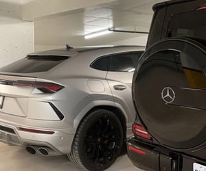 aesthetic, black, and cars image