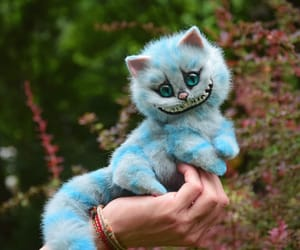 alice in wonderland, fantasy, and Cheshire cat image